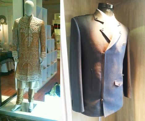 Some of Chandan's bespoke designs