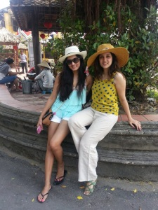 Parvati and me in Hanoi