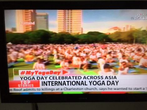 Yoga Day coverage