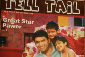 Kapil Sharma on the cover of Tell Tail