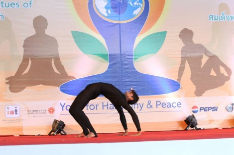Yoga on Stage